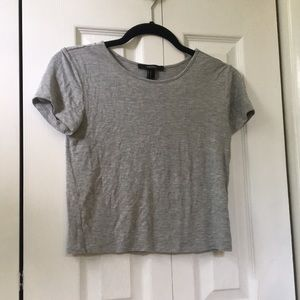 Forever 21 cropped t